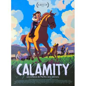 CALAMITY Original Movie Poster - 15x21 in. - 2020 - Rémi Chayé, Santiago Barban,