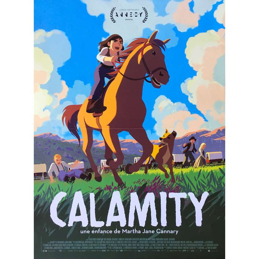 CALAMITY Affiche de film - 40x60 cm. - 2020 - Santiago Barban,, Rémi Chayé