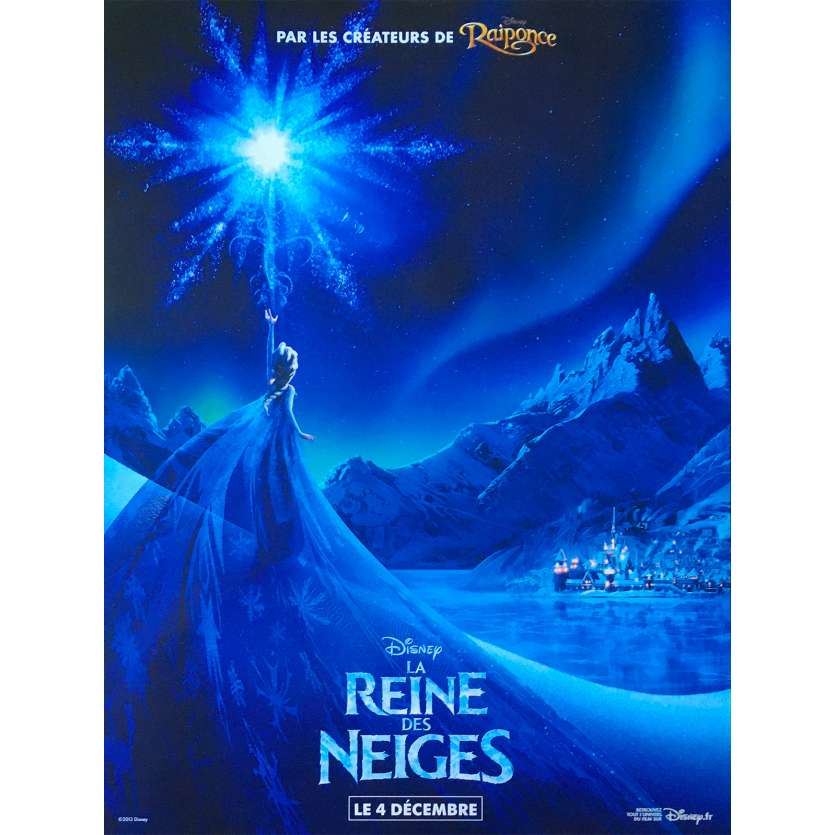FROZEN Original Movie Poster - 15x21 in. - 2013 - Walt Disney, Kristen Bell