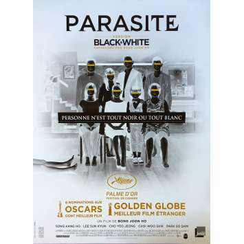 PARASITE - BLACK AND WHITE Affiche de film - 40x60 cm. - 2020 - Kang-ho Song, Bong Joon Ho