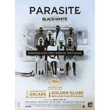 PARASITE - BLACK AND WHITE Original Movie Poster - 15x21 in. - 2020 - Bong Joon Ho, Kang-ho Song