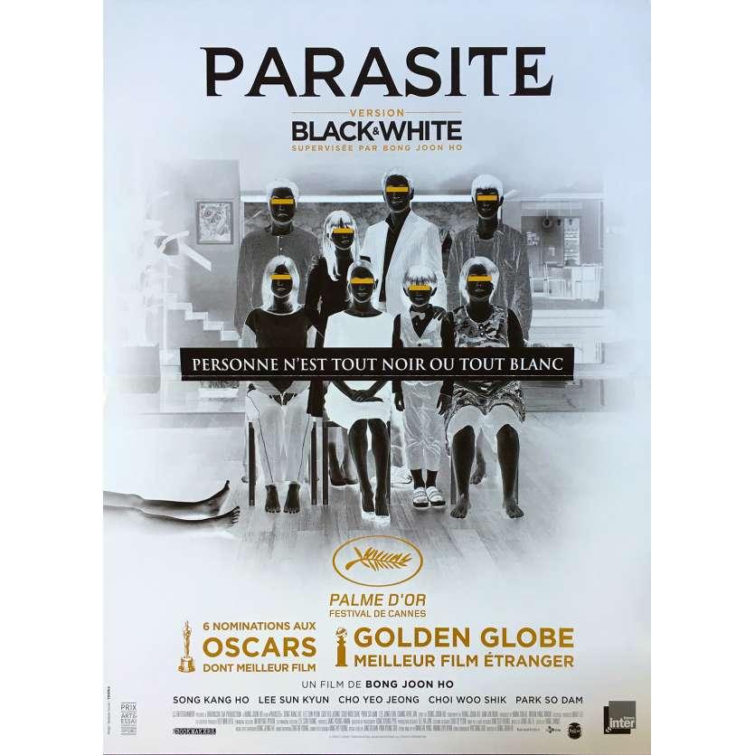 PARASITE - BLACK AND WHITE Affiche de film - 40x60 cm. - 2020 - Kang-ho Song, Bong Joon Ho