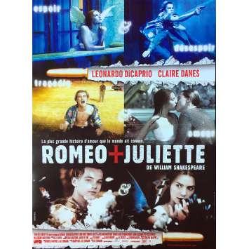 ROMEO + JULIET Original Movie Poster - 15x21 in. - 1996 - Baz Luhrmann, Leonardo DiCaprio, Claire Danes