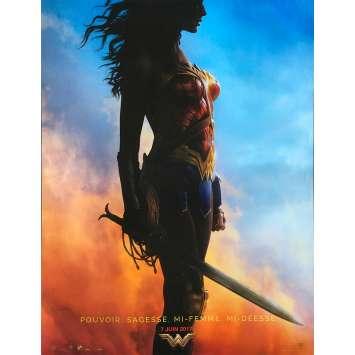 WONDER WOMAN Original Movie Poster - 15x21 in. - 2017 - Patty Jenkins, Gal Gadot