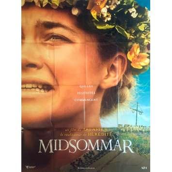 MIDSOMMAR Affiche de film - 120x160 cm. - 2019 - Florence Pugh, Ari Aster
