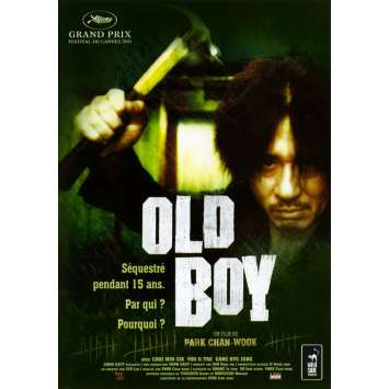 OLDBOY Original Movie Poster - 15x21 in. - 2003 - Chan-wook Park, Min-Sik Choi