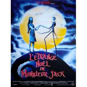 L'ETRANGE NOEL DE MONSIEUR JACK Affiche de film - 40x60 cm. - 1993 - Danny Elfman, Tim Burton