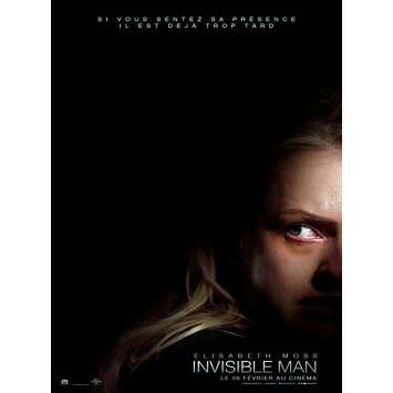 INVISIBLE MAN Original Movie Poster - 15x21 in. - 2020 - Leigh Whannell, Chevy Chase