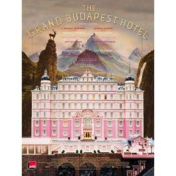 GRAND BUDAPEST HOTEL Affiche de film - 40x60 cm. - 2014 - Ralph Fiennes, Wes Anderson