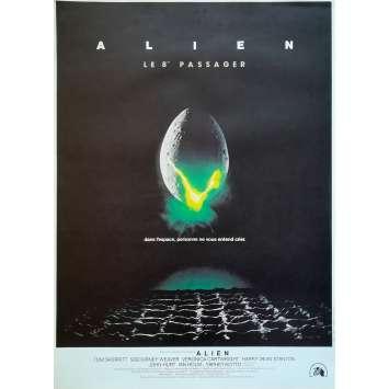 ALIEN Movie Poster - 15x21 in. - R1990 - Restrike - Ridley Scott, Sigourney Weaver