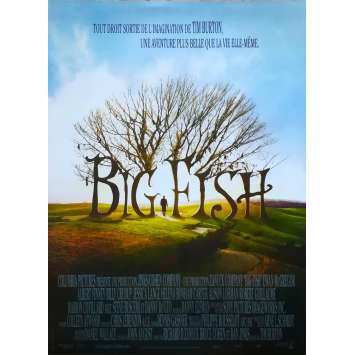 BIG FISH Movie Poster - 15x21 in. - R1990 - Restrike - Tim Burton, Ewan McGregor