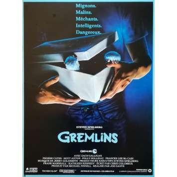 GREMLINS Movie Poster - 15x21 in. - R1990 - Restrike - Joe Dante, Zach Galligan