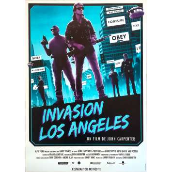 INVASION LOS ANGELES Affiche de film - 40x60 cm. - R2010 - Roddy Piper, John Carpenter