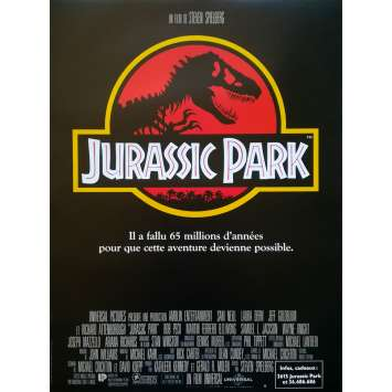 JURASSIC PARK Movie Poster - 15x21 in. - R2000 - Restrike - Steven Spielberg, Sam Neil