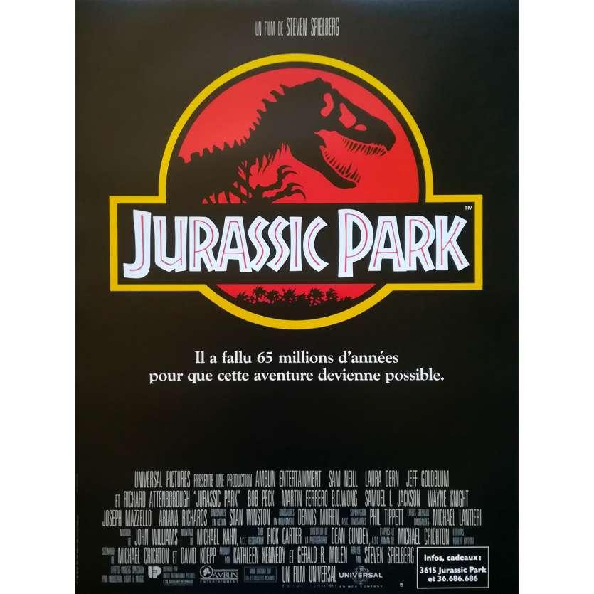 JURASSIC PARK Affiche de film - 40x60 cm. - R2000 - Sam Neil, Steven Spielberg