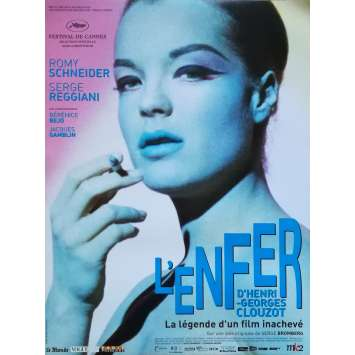 L'ENFER Affiche de film - 40x60 cm. - 2009 - Daria Nicolodi, Henri-George Clouzot