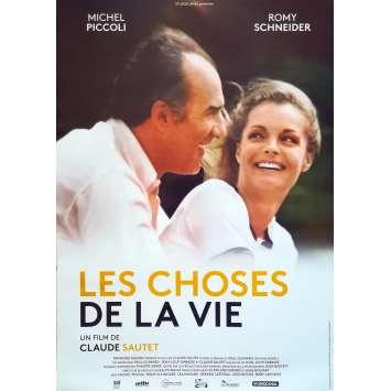 LES CHOSES DE LA VIE Affiche de film - 40x60 cm. - R2000 - Romy Schneider, Claude Sautet