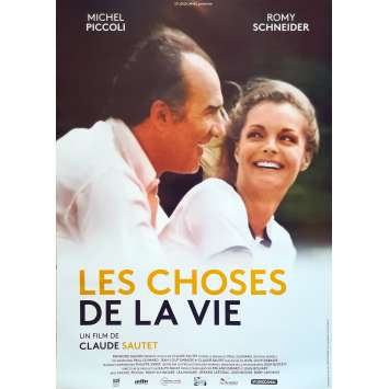 THE THINGS OF LIFE Movie Poster - 15x21 in. - R2000 - - Claude Sautet, Romy Schneider