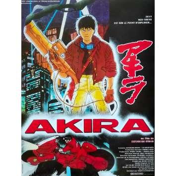 AKIRA Affiche de film - 40x60 cm. - R2000 - Mitsuo Iwata, Katsuhiro Ôtomo Retirage