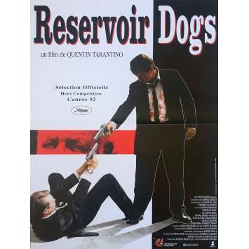 RESERVOIR DOGS Movie Poster - 15x21 in. - R2000 - Restrike - Quentin Tarantino, Harvey Keitel