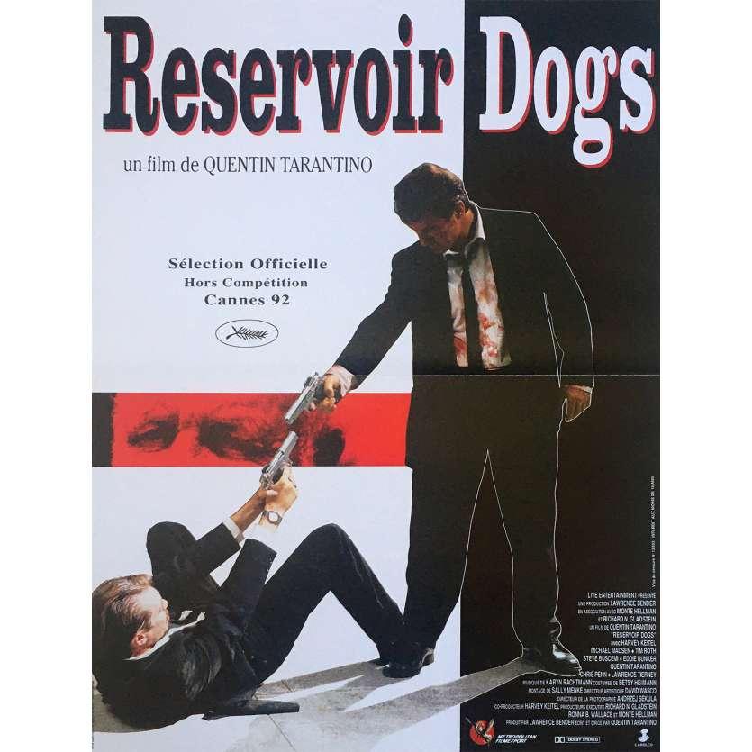 RESERVOIR DOGS Movie Poster - 15x21 in. - R2000 - Restrike - Quentin Tarantino, Harvey Keitel