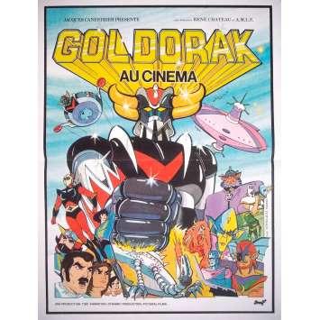 GOLDORAK Affiche de film - 40x60 cm. - R1990 - Grendizer, Go Nadai