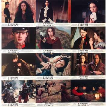 THE STORY OF ADELE H. Original Lobby Cards Set A - 9x12 in. - 1975 - François Truffaut, Isabelle Adjani