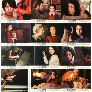 THE STORY OF ADELE H. Original Lobby Cards Set B - 9x12 in. - 1975 - François Truffaut, Isabelle Adjani