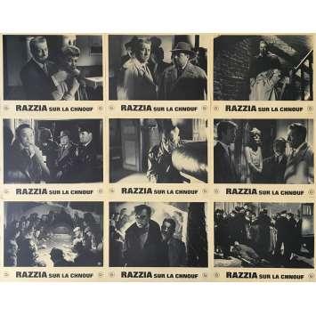 RAZZIA SUR LA CHNOUF Photos de film - 21x30 cm. - 1955 - Jean Gabin, Henri Decoin