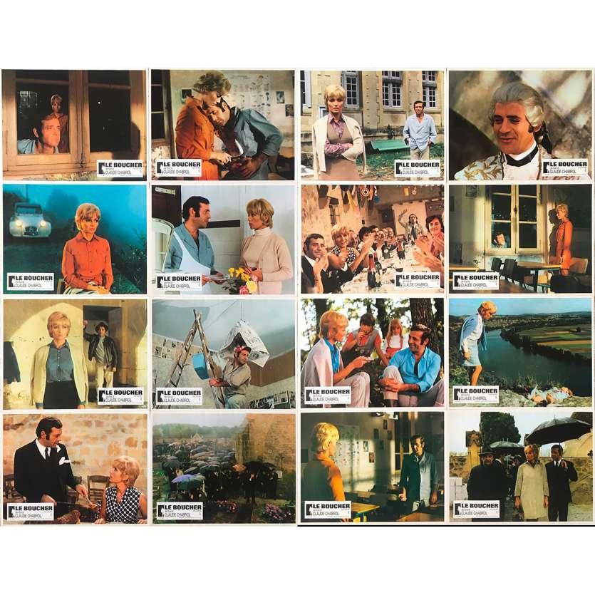 LE BOUCHER Photos de film - 21x30 cm. - 1970 - Stéphane Audran, Jean Yanne, Claude Chabrol