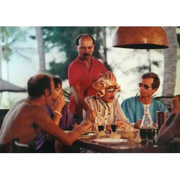 LES BRONZES Photo de presse N10 - 21x30 cm. - 1978 - Le Splendid, Patrice Leconte