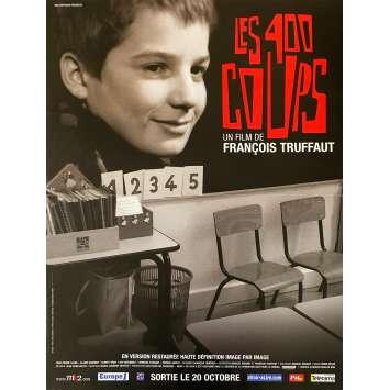 LES 400 COUPS Affiche de film - 40x60 cm. - 1959 - Jean-Pierre Léaud, François Truffaut