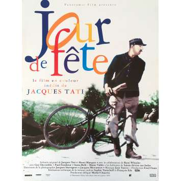JOUR DE FETE Original Movie Poster - 15x21 in. - 1949 - Jacques Tati, Paul Frankeur