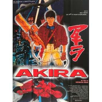 AKIRA Affiche de film - 120x160 cm. - 1988 - Nozomu Sasaki, Katsushiro Otomo