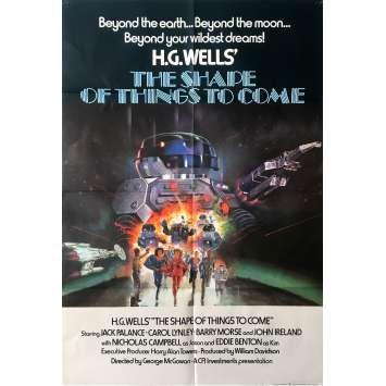 ALERTE DANS LE COSMOS Affiche de film - 69x102 cm. - 1979 - Jack Palance, George McCowan