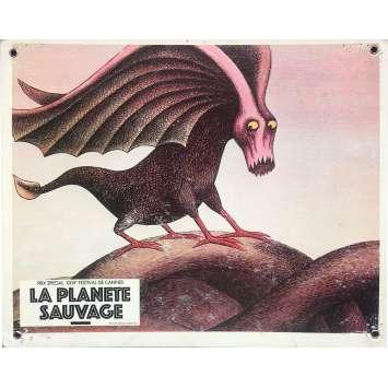 FANTASTIC PLANET Original Lobby Card N10 - 9,5x13,5 in. - 1973 - René Laloux, Barry Bostwick