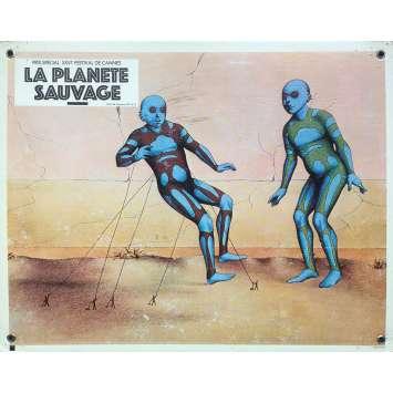 FANTASTIC PLANET Original Lobby Card N09 - 9,5x13,5 in. - 1973 - René Laloux, Barry Bostwick
