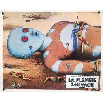 FANTASTIC PLANET Original Lobby Card N08 - 9,5x13,5 in. - 1973 - René Laloux, Barry Bostwick