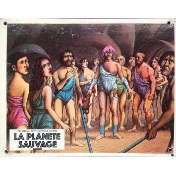 FANTASTIC PLANET Original Lobby Card N07 - 9,5x13,5 in. - 1973 - René Laloux, Barry Bostwick