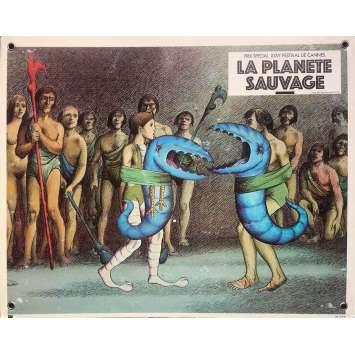 FANTASTIC PLANET Original Lobby Card N06 - 9,5x13,5 in. - 1973 - René Laloux, Barry Bostwick