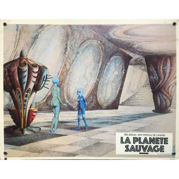 FANTASTIC PLANET Original Lobby Card N05 - 9,5x13,5 in. - 1973 - René Laloux, Barry Bostwick