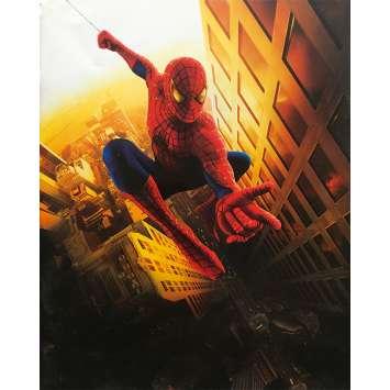 SPIDER-MAN Original Pressbook 36p - 9x12 in. - 2002 - Sam Raimi, Tobey Maguire