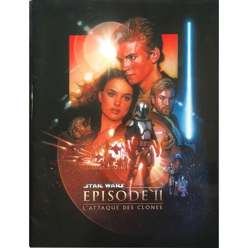 STAR WARS - L'ATTAQUE DES CLONES Dossier de presse 56p - 21x30 cm. - 2002 - Natalie Portman, George Lucas