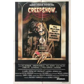 CREEPSHOW Original Movie Poster - 29x43 in. - 1982 - George A. Romero, Leslie Nielsen