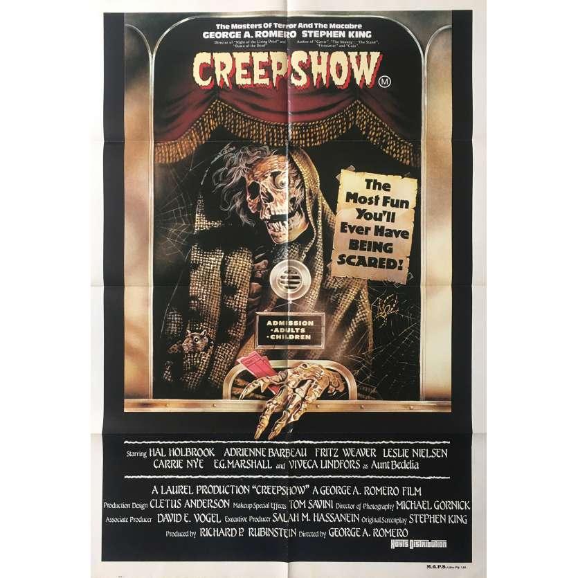 CREEPSHOW Affiche de film - 74x110 cm. - 1982 - Leslie Nielsen, George A. Romero