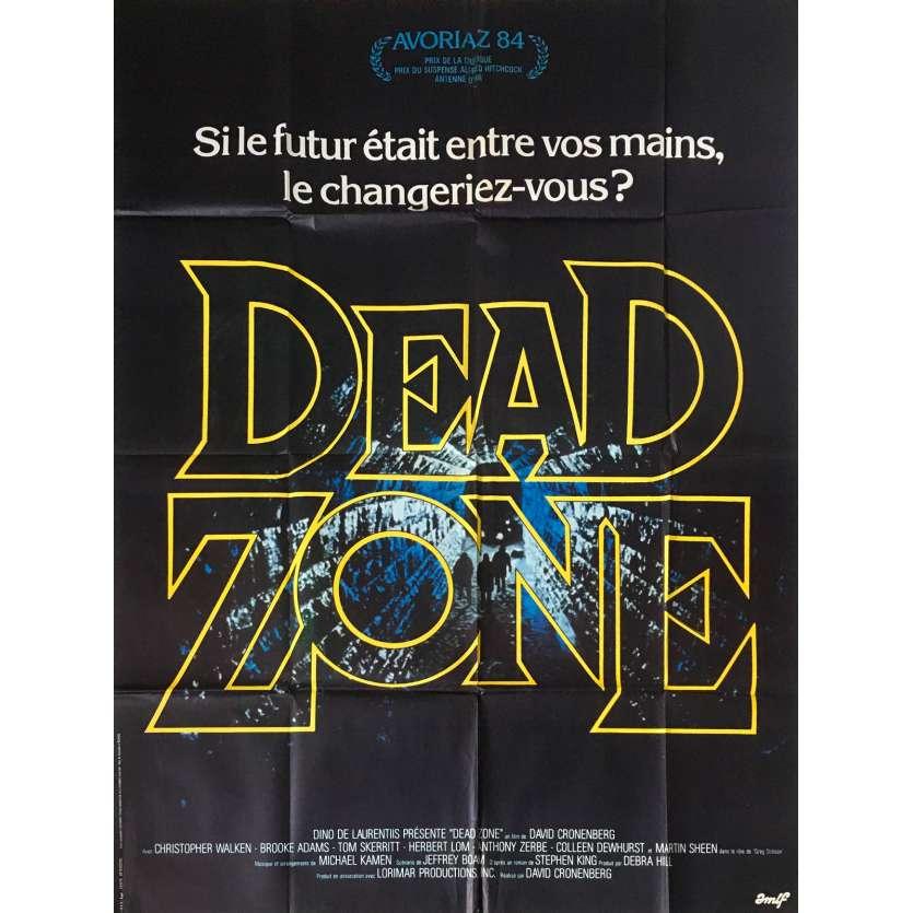 DEAD ZONE Affiche de film - 120x160 cm. - 1984 - Christopher Walken, David Cronenberg