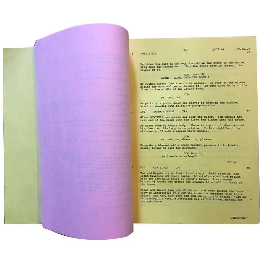HYPNOSE Scénario - 21x30 cm. - 1999 - Kevin Bacon, David Koepp