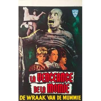 WRESTLING WOMEN VS. THE AZTEC MUMMY Original Movie Poster - 14x21 in. - 1964 - René Cardona, Lorena Velázquez