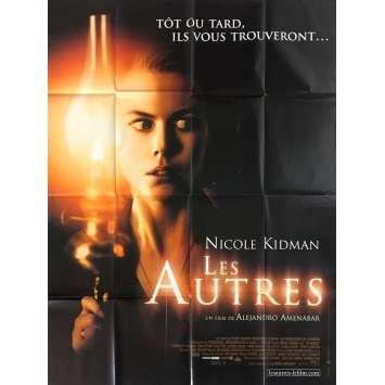 LES AUTRES Affiche de film - 120x160 cm. - 2001 - Nicole Kidman, Alejandro Amenábar