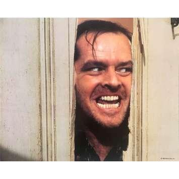 THE SHINING Original Lobby Card N05 - 8x10 in. - 1980 - Stanley Kubrick, Jack Nicholson